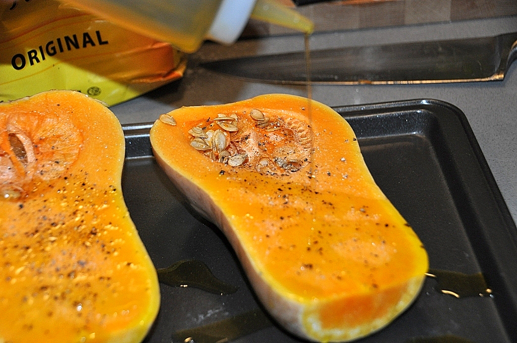 squash with spices