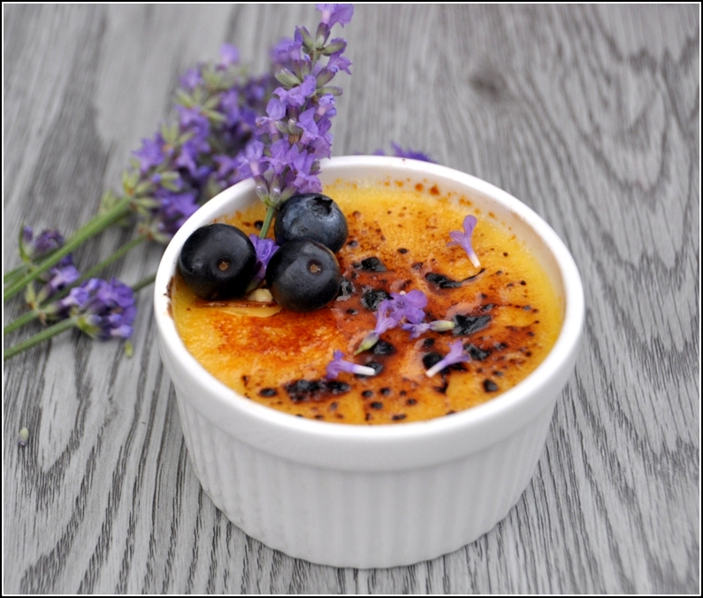 Lavender Infused Creme Brulee - Magdalicious food blog